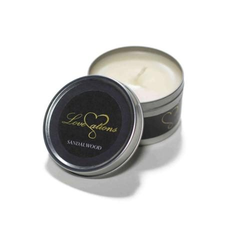 massage candle sandalwood