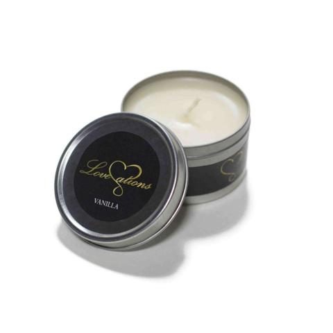 massage candle vanilla